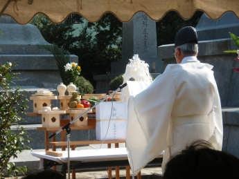H21陸軍墓地慰霊祭神事