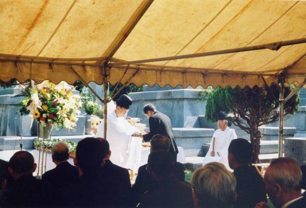 平成20年陸軍墓地慰霊祭